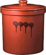 保存容器 切立壷