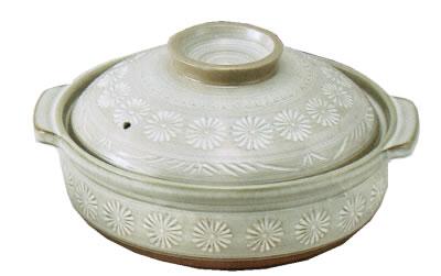 銀峯 三島 土鍋