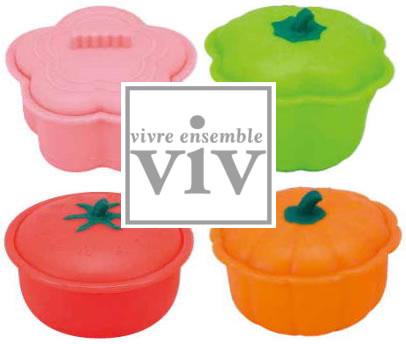 ViV シリコンスチーマー ココット